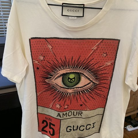 127f666c5 @i_am_a_bee. 4 months ago. Southern River, Australia. Gucci Eye Tee Size L  ...