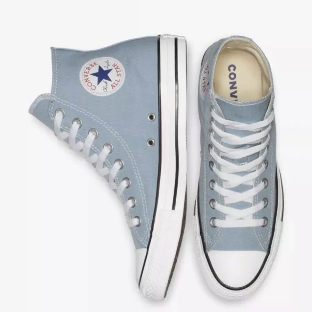 Converse Chuck Taylor All Star Denim Washed Womens High Top