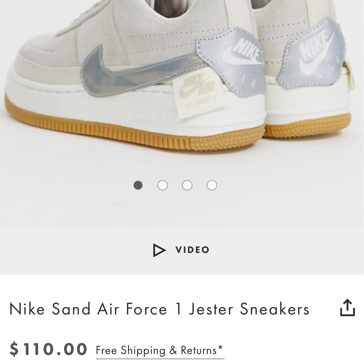 brand new nike air force 1s suede jester in desert Depop