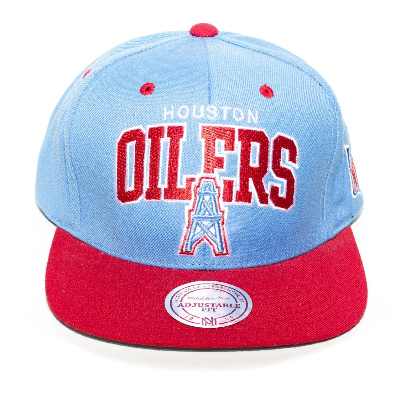Houston Oilers Mitchell and Ness Snapback Brand  hat  sports - Depop f253c8f67c9