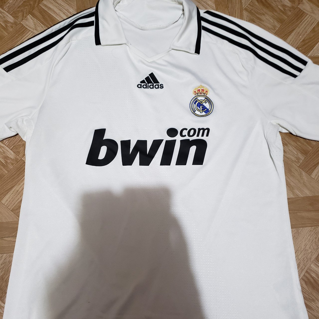 4cce614c4 Adidas Real Madrid soccer jersey size L  adidas  soccer - Depop