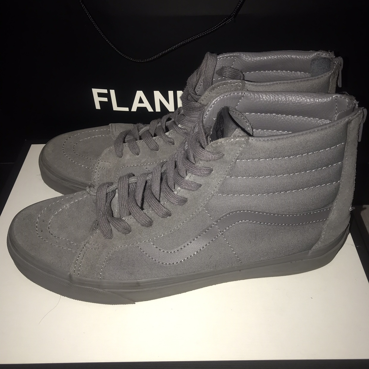 vans of the wall suede high tops