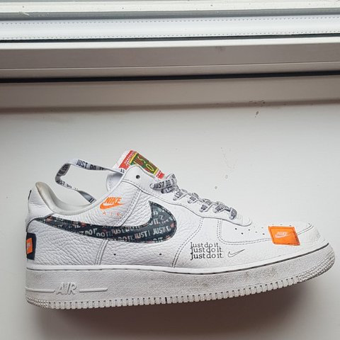 new product ba856 96cd4 @frenchi9782. 2 months ago. United Kingdom, GB. AIR FORCE 1 LOW JUST DO IT PACK  WHITE/BLACK