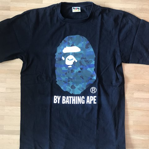 b659bc7d A BATHING APE TEE Condition: worn once! (9/10), flawless - Depop