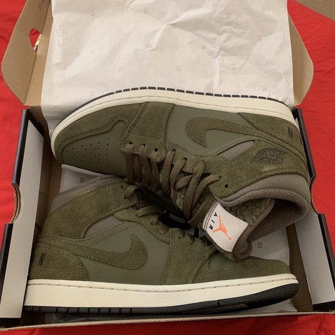 ab400282fe2 @ceazecloset. 11 hours ago. Fayetteville, United States. Nike Air Jordan 1  Olive Brand new condition