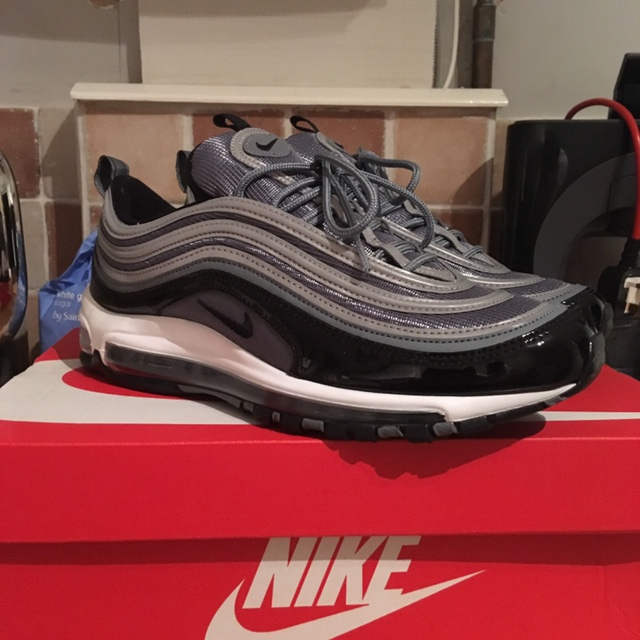 huge selection of aa863 a609f Air max 97 patent leather (black) size 8 these are... - Depop