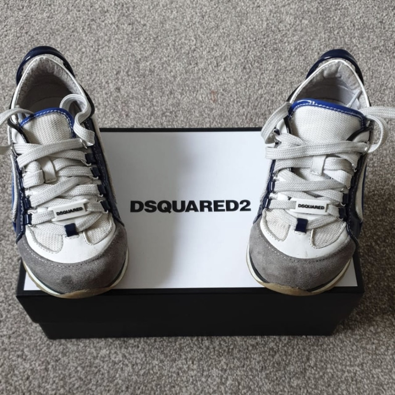 baby dsquared trainers