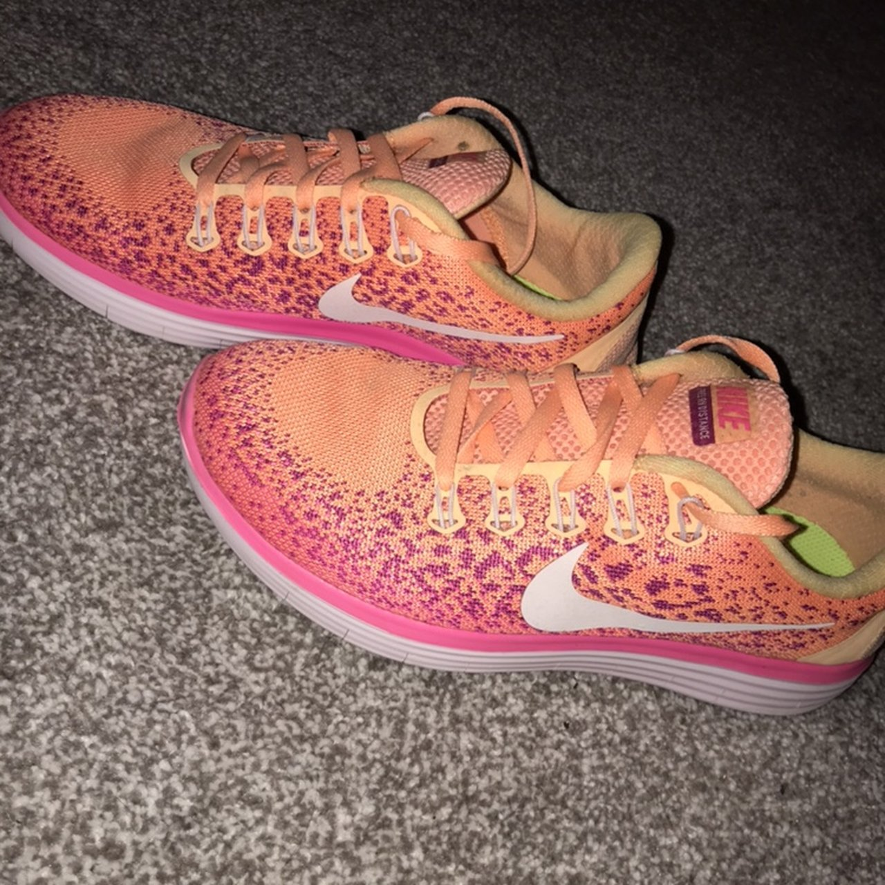 263bb359f283 Women s nike running trainers... size 5.5 worn but not much - Depop