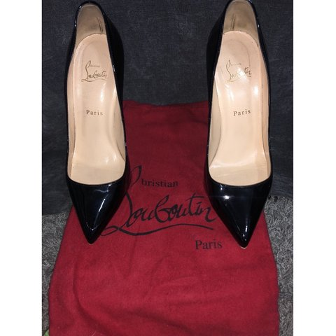 bbb955d227f Christian Louboutin Red Bottoms size 40 (fits a 8.5) worn 3 - Depop