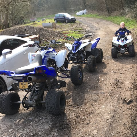 Looking To Px Or Sell My Quad 2007 Yamaha Raptor 700R Mot