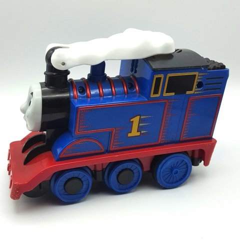 Fisher Price Turbo Flip Thomas The Train In Gently Played Depop