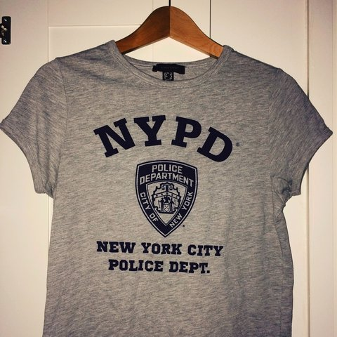 fbc2df854 Nypd Fitted T Shirt So Comfy Barely Worn So In Excellent Depop