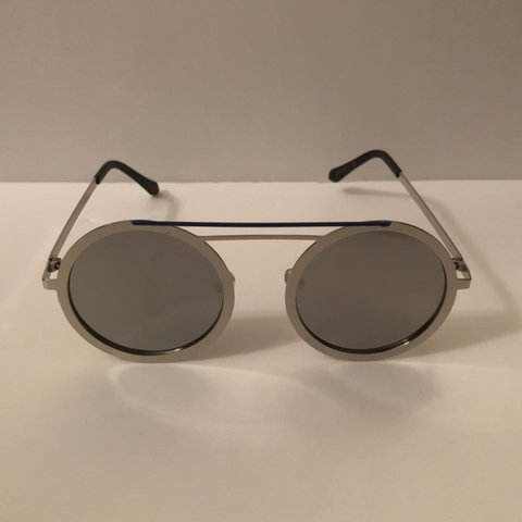 c89a1cea2 @retrovision1961. in 6 hours. Closter, United States. Round metal frame.  Vintage sunglasses