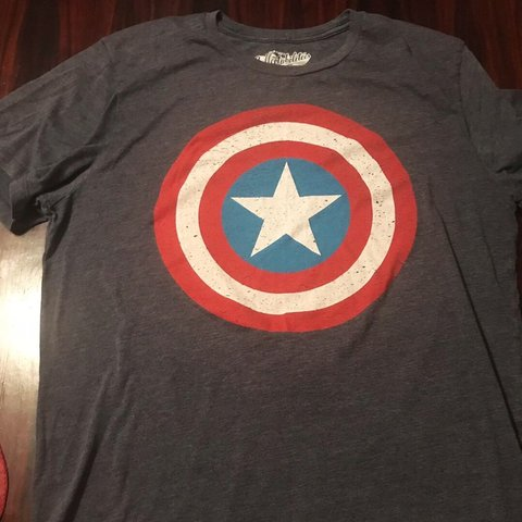 Authentic Old Navy Totally Classic Captain America Shirt Depop