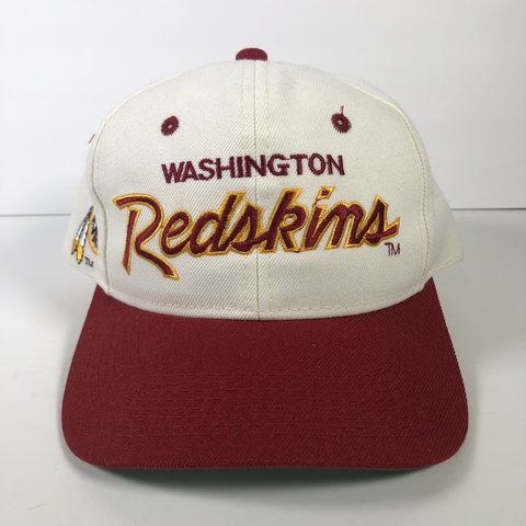 0b7046db1a1e2 Sports Specialties Redskins hat in good pre-owned condition. - Depop
