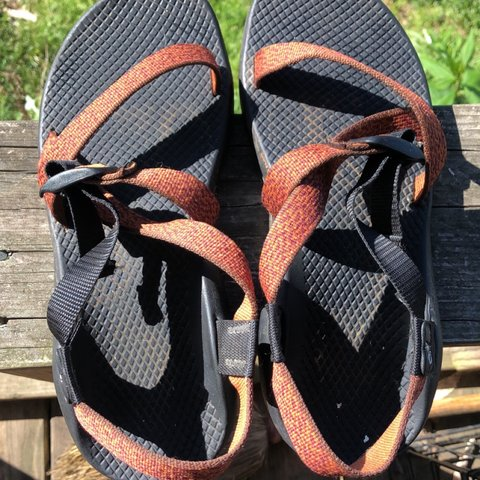 7f124ebece53 Chacos!! Size  10 women Good condition  sandals  chaco put - Depop