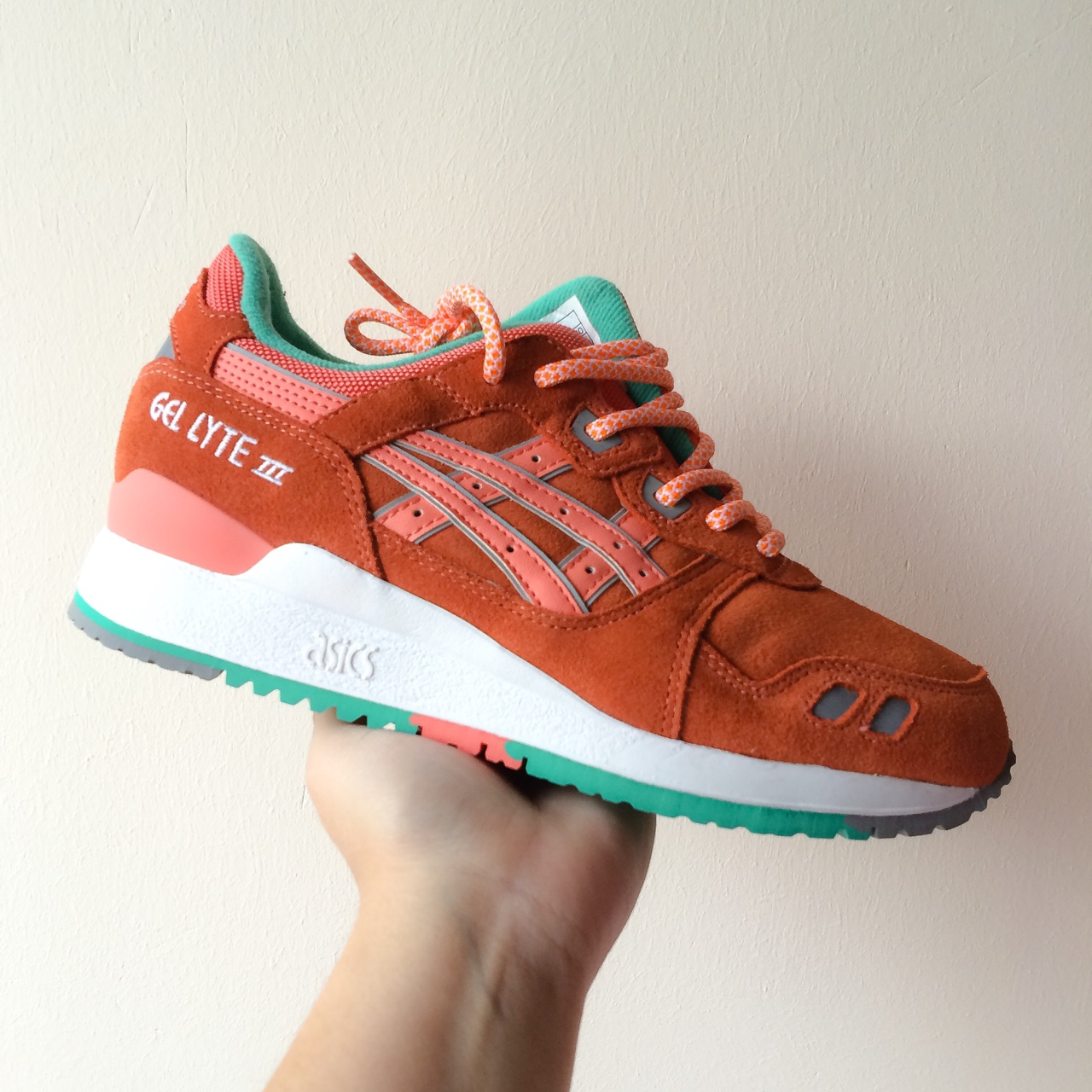 preocuparse sencillo heroína  Asics Gel-Lyte III Fresh Salmon. New in original... - Depop
