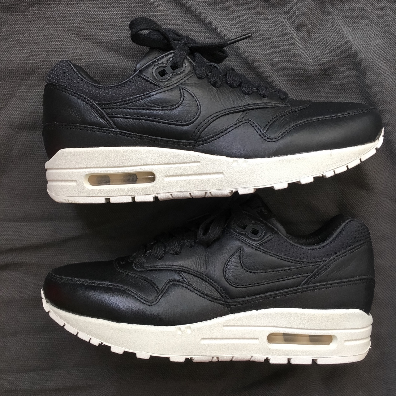 Nike Air Max 1 Pinnacle black sail. Condition 910. Depop