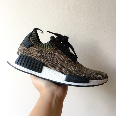 dcb9a657def5 Adidas NMD Runner Olive. Condition 9 10