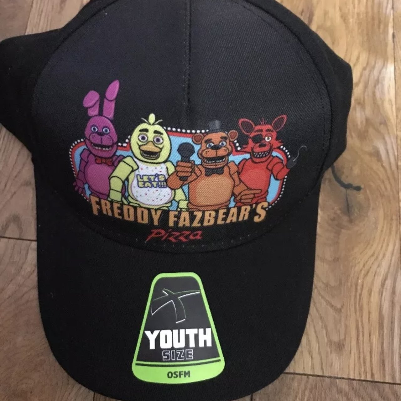 New Boys USA imported five nights at Freddys baseball cap in - Depop b0bbaa39768