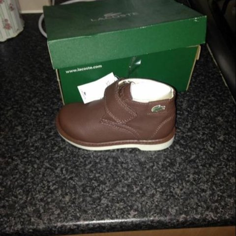 5ae1dc864659 Brand new Lacoste winter boots . These are brand new in box - Depop