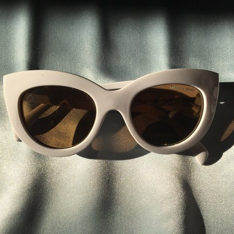 56411792ee QUAY X SHAY Jinx cat eye sunglasses from the brand Quay with - Depop