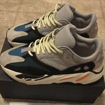 e18a11937 Yeezy 700 Wave Runners Used Legit with stockx tag - Depop