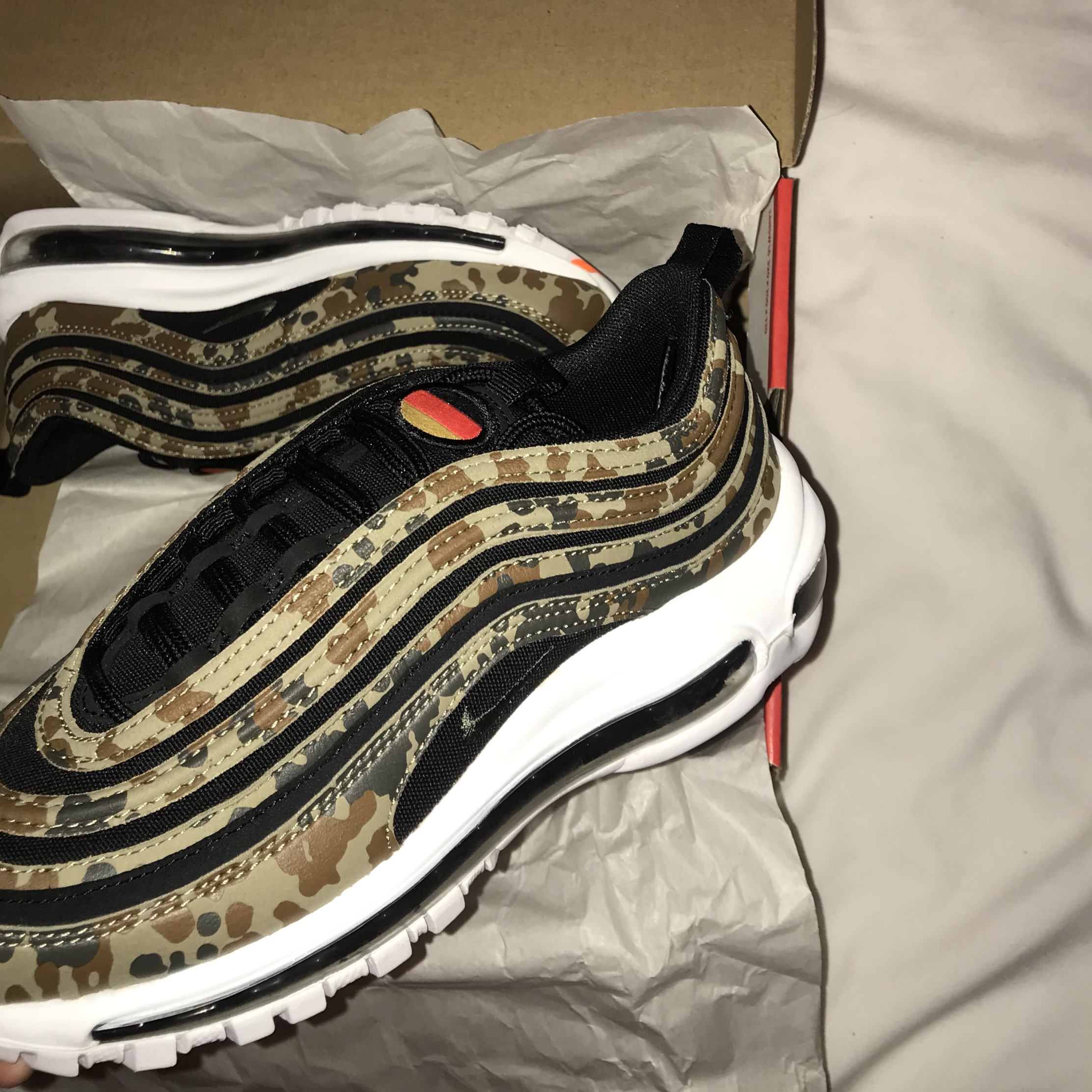 check out 63b7c f177b  olidunn. last year. Prestwich, United Kingdom. Nike Airmax 97 Country Camo  Pack Germany