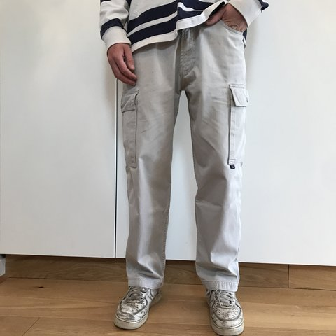 4bc46578 @benunwiin1. 8 months ago. Stansted, United Kingdom. Tommy Hilfiger Brown  Heavyweight Cargo pants