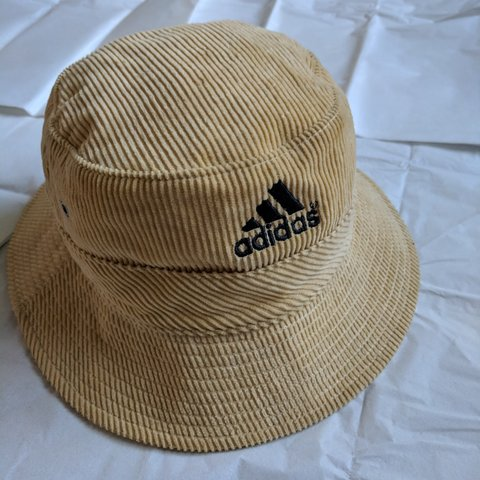 reduced FRESH VINTAGE ADIDAS CORDUROY BUCKET HAT FOR YOUR - Depop 3e693587536