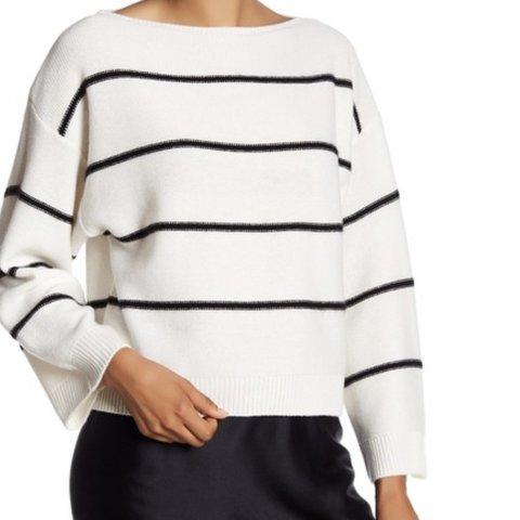 f453e91b208b @lr2173. 4 months ago. United States. Vince Striped Cashmere Sweater