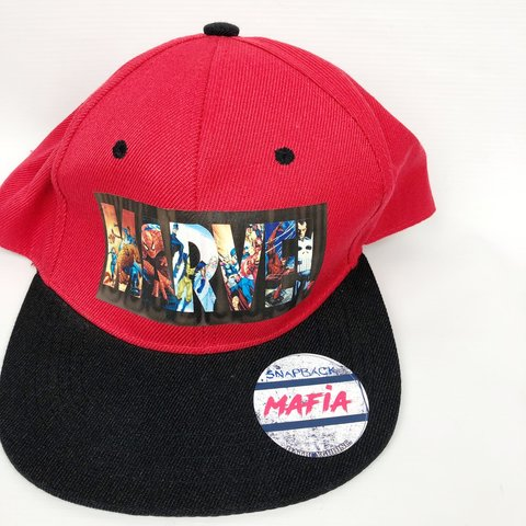Marvel Characters Bucket Hat One Size allover print swag - Depop 1849374f0bdf