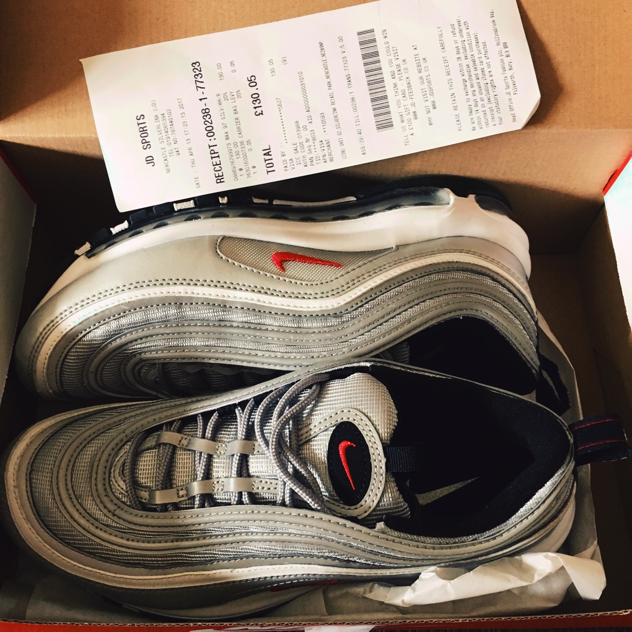 Wow, Nike air max 97 transparent Invisible next. in 2019