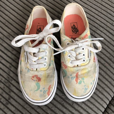 f044162fc4 Little mermaid vans size 12.5. Used condition but got some - Depop