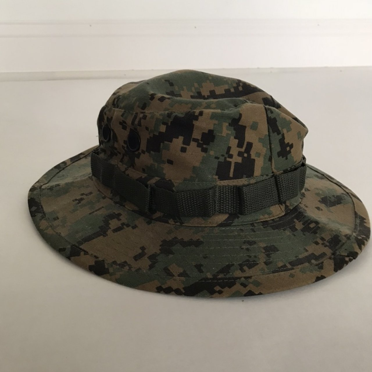 Camo Spitfire bucket hat with drawstring. Gently used. - Depop 371e2f3b500