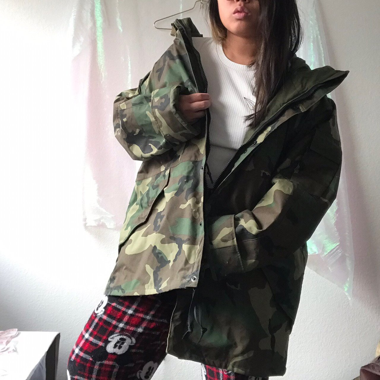 c76f54b5fbd0d FREE SHIPPING 🎉 🌲🍃✨ US ARMY ISSUE GORETEX CAMOUFLAGE by & - Depop