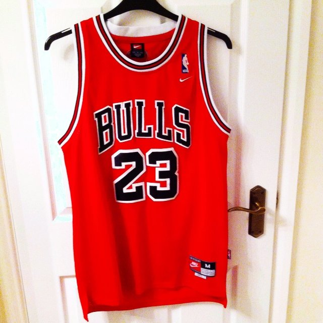 9d4bf72f3 NBA Chicago Bulls Michael Jordan retro jersey