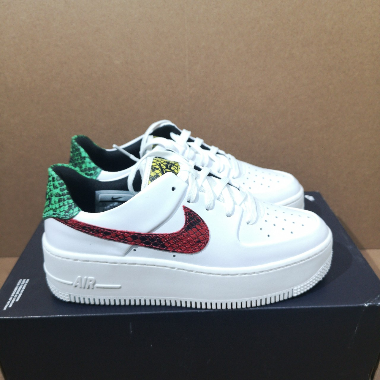 Nike Air Force 1 Sage 'Snake' | BV1979 100 | Sneakerjagers