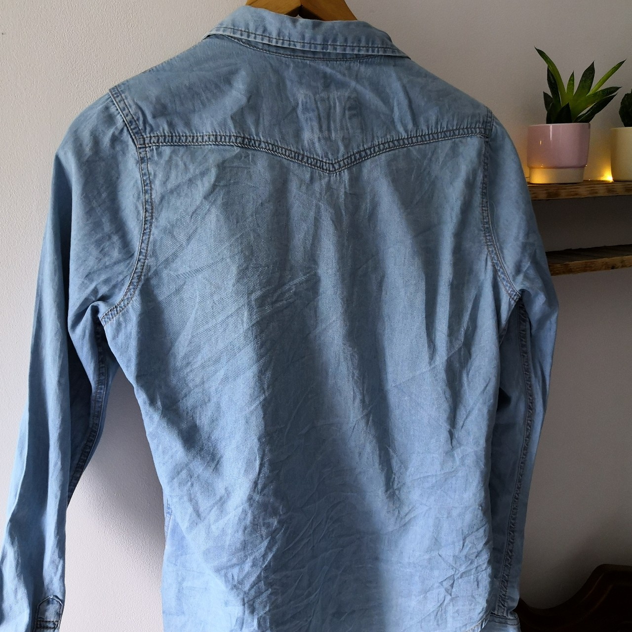 Zara Boys Denim Shirt Size 13 14 Boys (But Would Fit Depop