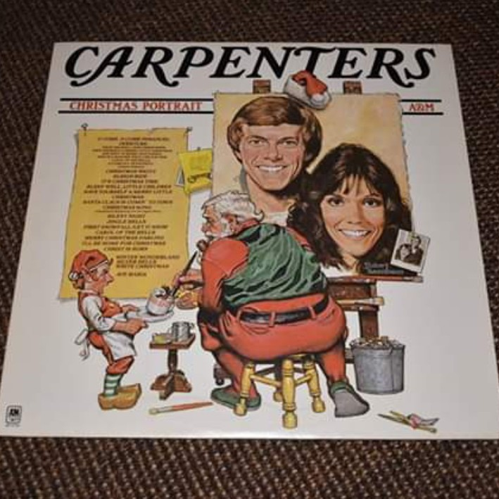 Carpenters Christmas Portrait.Carpenters Christmas Portrait Vinyl Depop