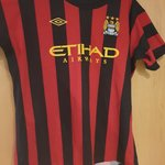614e48c35 2011/12 Man City away top. Large Condition: