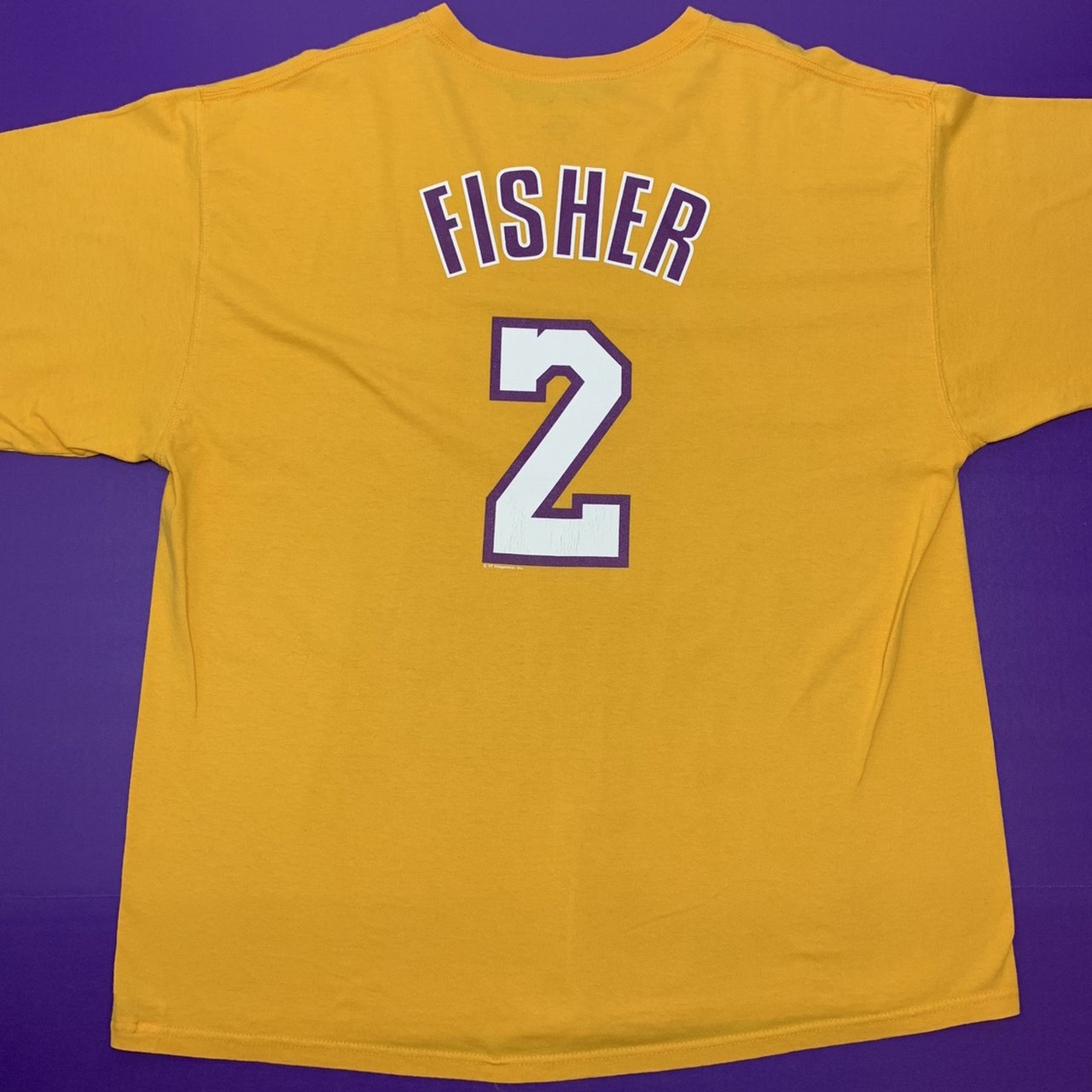 Derek Fisher🏀 Los Angeles Lakers Jersey T Size  XXL Rating  - Depop 9dc7bdc7f