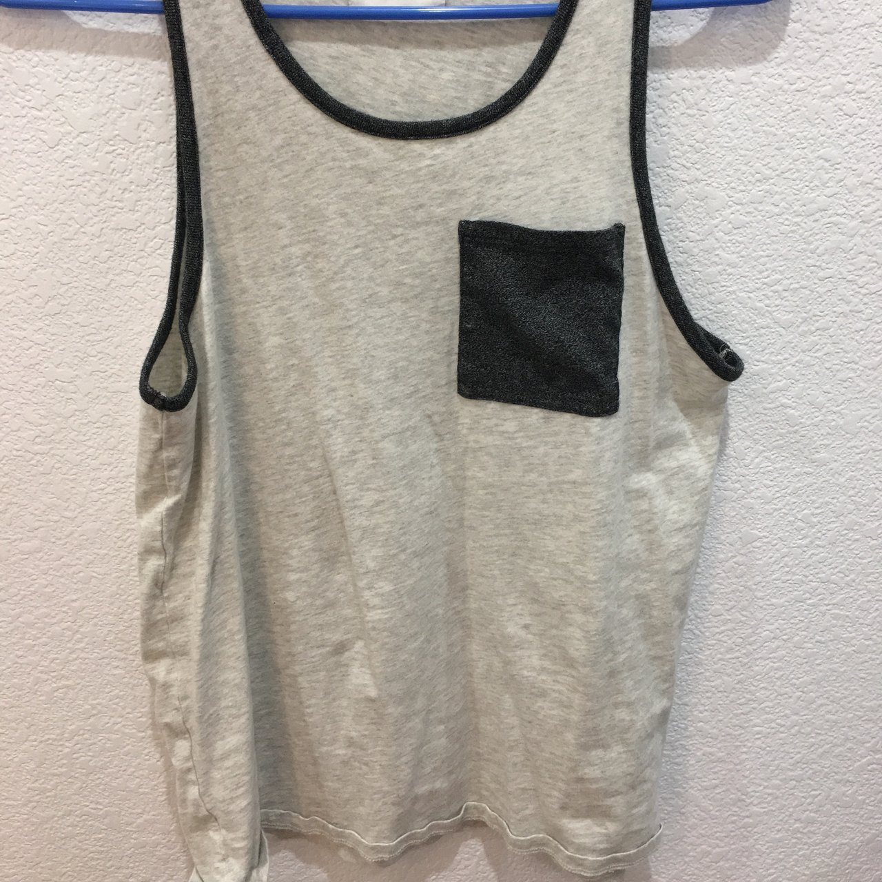 Pacsun Men s Tank top Size  S Very comfy ! Perfect for at - Depop f4c4ded0822d
