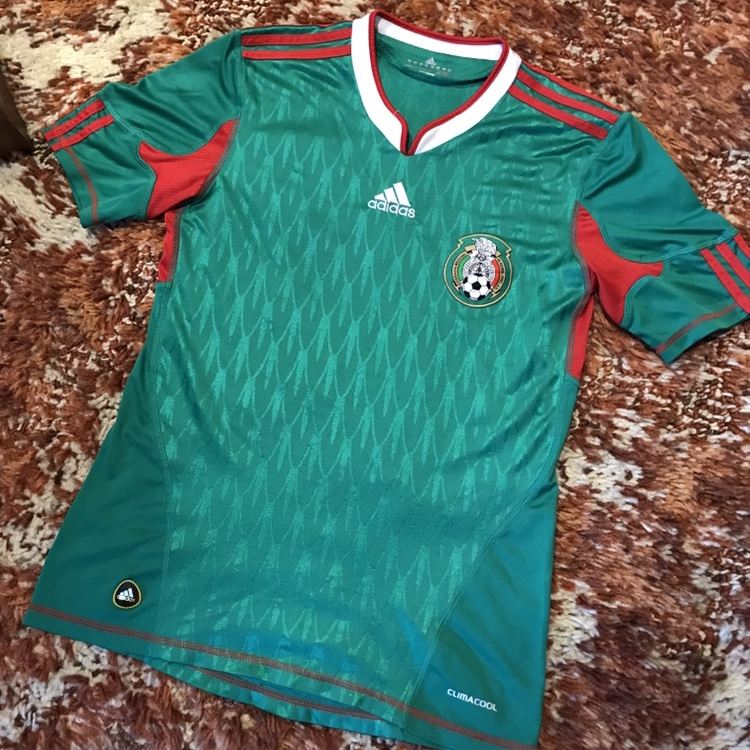 new styles 841bc 441a8 Authentic Adidas Mexico National Team Soccer Jersey ...