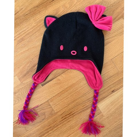 1d87c2f15163a Hello Kitty Beanie for girls Excellent Condition - Depop