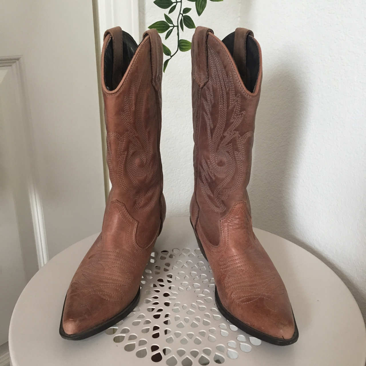 a505f7e4f06 Aldo western boots Size 37 They show some natural... - Depop