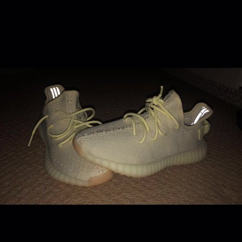 "445efda57 Yeezy 350 V2 ""Yeezy Butter"" size UK 9 worn once for a few at - Depop"