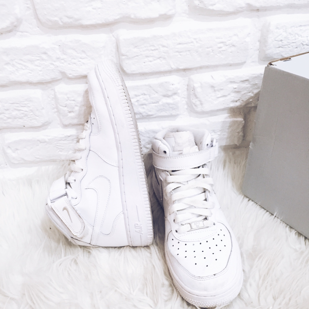 nike air force 1 bianche alte