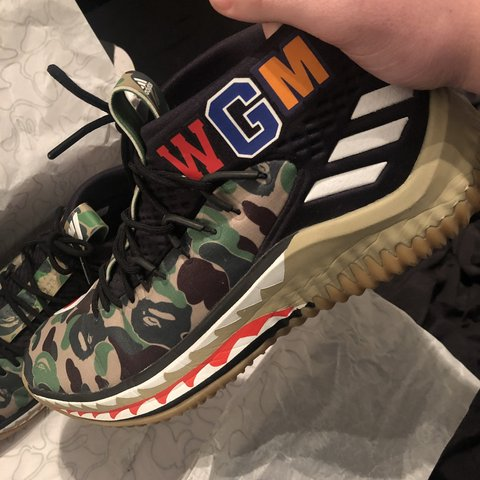 new concept 7559e f5872 ultrawear. 13 days ago. Newcastle Upon Tyne, United Kingdom. Adidas x bape  a bathing ape Dame4 bape hype shoe ...
