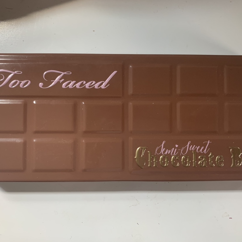 Too Faced Semi Sweet Chocolate Palette Only Used Depop